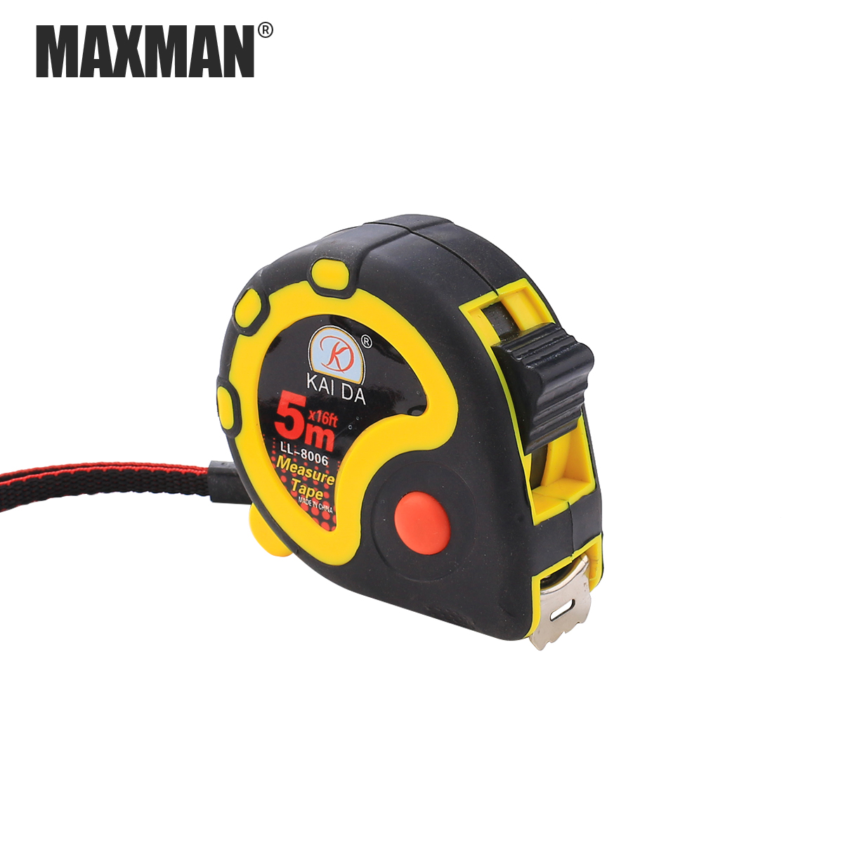 MAXMAN 1PCS 5M 10M Plastic Tape Measure Inch And Metric system Household Ruler Home Decoration DIY Tools Woodworking Caliper