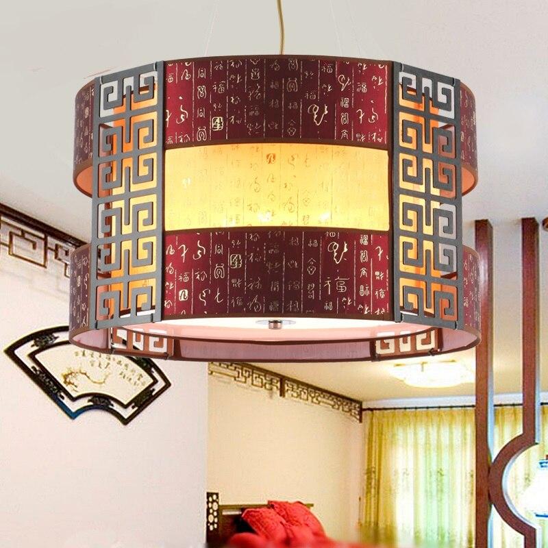 aliexpress koop chinese stijl houten hanglampen imitatie