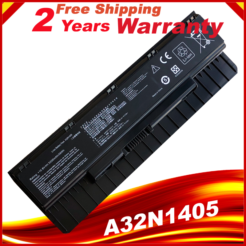 HSW Laptop Battery A32N1405 For Asus G551 G551J G551JK G551JM Battery For Laptop G771J G771JK N551J N551JW N551JM N551Z N551ZU