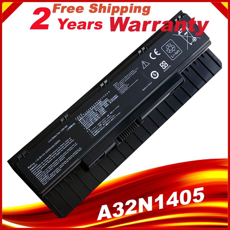 HSW Laptop Battery A32N1405 For Asus G551 G551J G551JK G551JM Battery For Laptop G771J G771JK N551J N551JW N551JM N551Z N551ZU