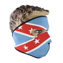 1 шт., зимняя Балаклава с черепом, мотоциклетная маска CS, теплая маска для лица, спортивная теплая Ветрозащитная маска для лыжного велосипеда, Зимняя Маска для защиты лица
