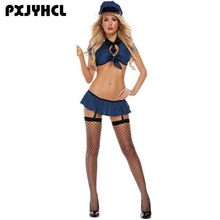 Halloween Policeman Cosplay Costume For Women Sexy Police Role Play Game Uniform Party Adult Female Performance Outfit chlidren s policeman cosplay costume policeman costume with durable case police officer costume for kids
