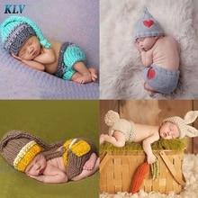 Милый вязаный костюм «кроше» для новорожденных мальчиков и девочек, наряд для фотосессии,#330