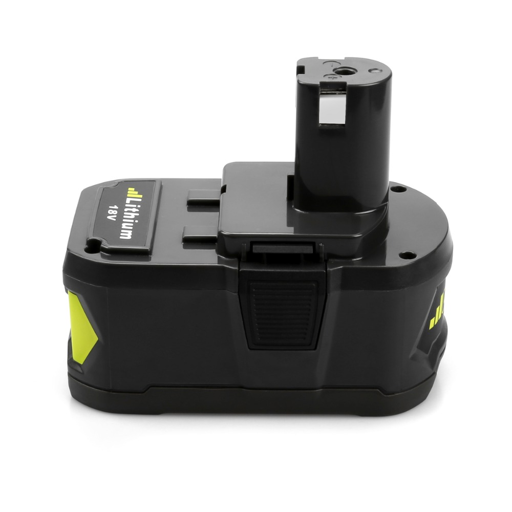 5000mAh  For Ryobi 18V P108 RB18L40 Lithium Ion Rechargeable Battery Pack Power Tools Battery Ryobi ONE+ ryobi
