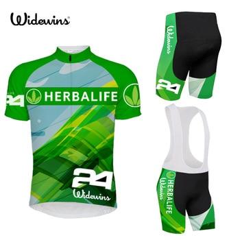2019 nueva alta calidad manga corta ciclismo jersey pantalones cortos babero pro...