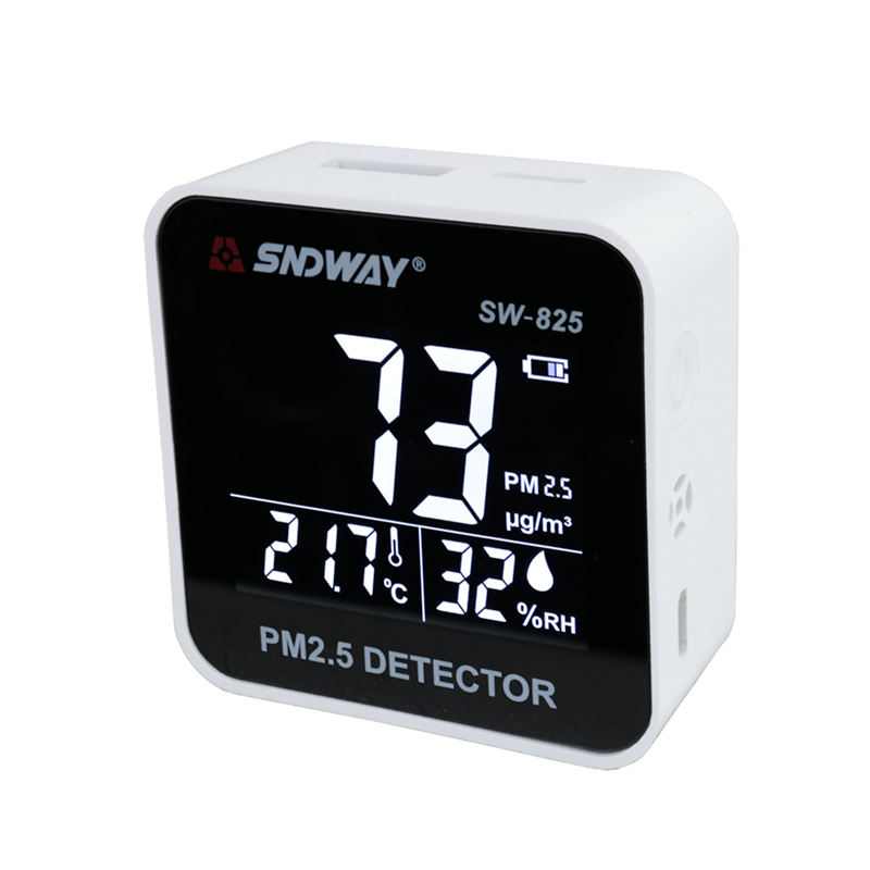 hot sale SNDWAY Gas Analyzer Gas Detector Pm 2.5 Air Quality Monitor Pm2.5 Detector Electrical With Lcd Screen Combustible Gas