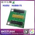 Huidu hub08-75 pinboard led платы управления conventor конвертировать hub08 порт для hub75 порт для rgb светодиодный экран полный цвет модуль