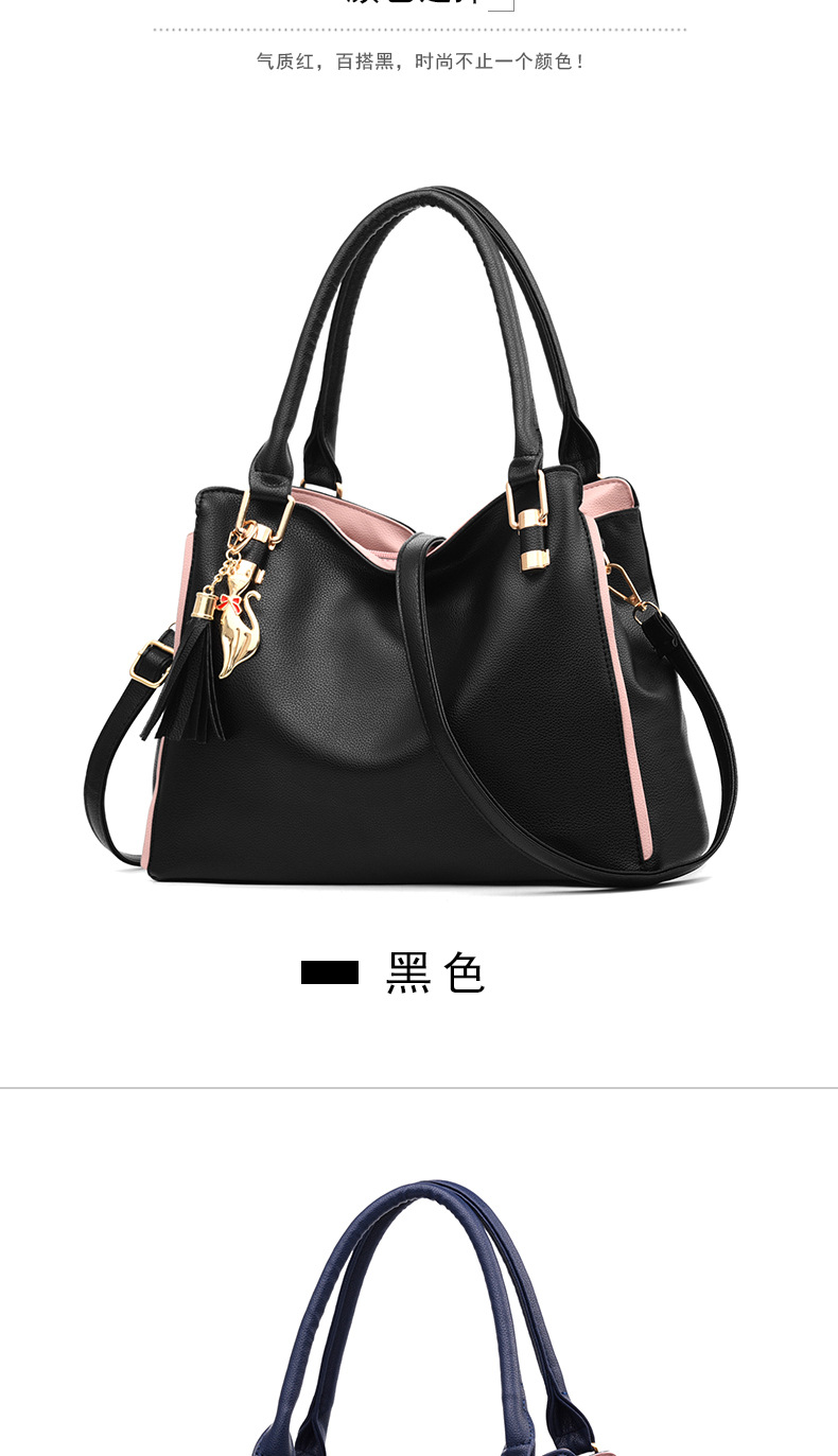 Women Shoulder Bags Messenger Tide Female Top handle Bag Girls Simple Handbags for Lady Totes Fashion Party Pack