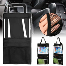 Multi Pocket Hanging Storage Bag Car Seat Back Organiser Tablet i-Pad Holder Stowing Tidying Travel