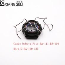 Watch Accessories For Casio baby-g  BA-111 BA-110 BA-112 BA-120 125  Steel Case Bumper stainless steel casio baby g ba 110fl 8a