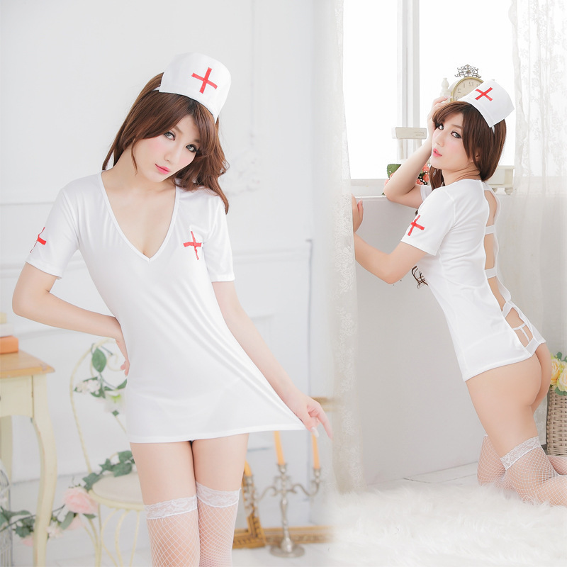 Pajamas for Women font b Sex b font Products Nurses Wear Sexy Underwear Obey In Every