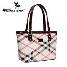FERAL CAT Womens Fashion Classic Luxury Leather Handbags Women Ladies Hand Bags Designer Sale High Quality ladies hand bags