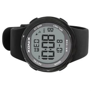 Image 4 - אופנה גברים ספורט שעונים עמיד למים 100m חיצוני כיף Hardlex מראה Sumergible דיגיטלי שעון שחייה שעוני יד Reloj Hombre