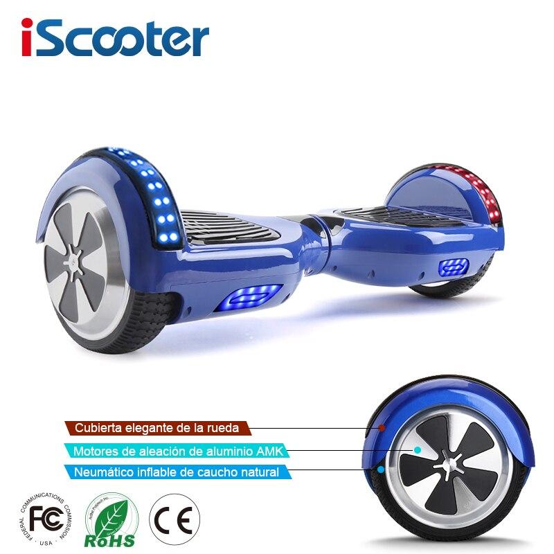 Hoverboards auto Balance coup de pied Gyroscoot Scooter électrique planche à roulettes Oxboard électrique Hoverboard 6.5 pouces deux roues vol stationnaire
