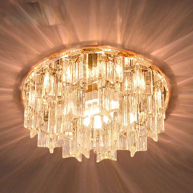 Moderne FÜHRTE Kristall Wohnzimmer Korridor Deckenleuchten ...