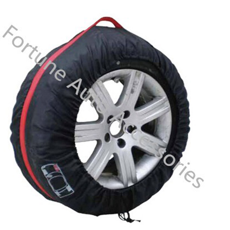 1PCS Universal Car Spare Tire Cover Water repellent Auto Tyre Protector Storage Bag For Summer ...