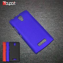For Lenovo A2010 Case Hard PC Cover Good touch feel Anti-fingerprint Coating Rubber Paint Hot Sales Frosted Cover Phone Bags
