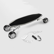 Carbon Fiber Inelligent Electrical Skateboard Cellphone APP And Bluetooth 500W Motor Electrical Longboard 39.9″ Megal Alloy Deck