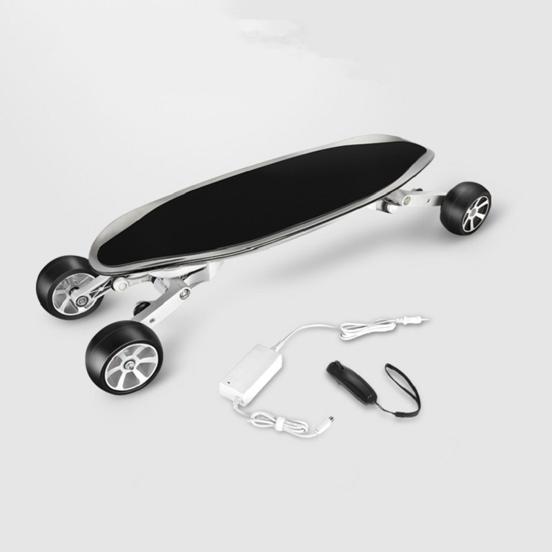 Carbon Fiber Inelligent Electrical skateboard Cellphone APP and Bluetooth W Motor Electrical