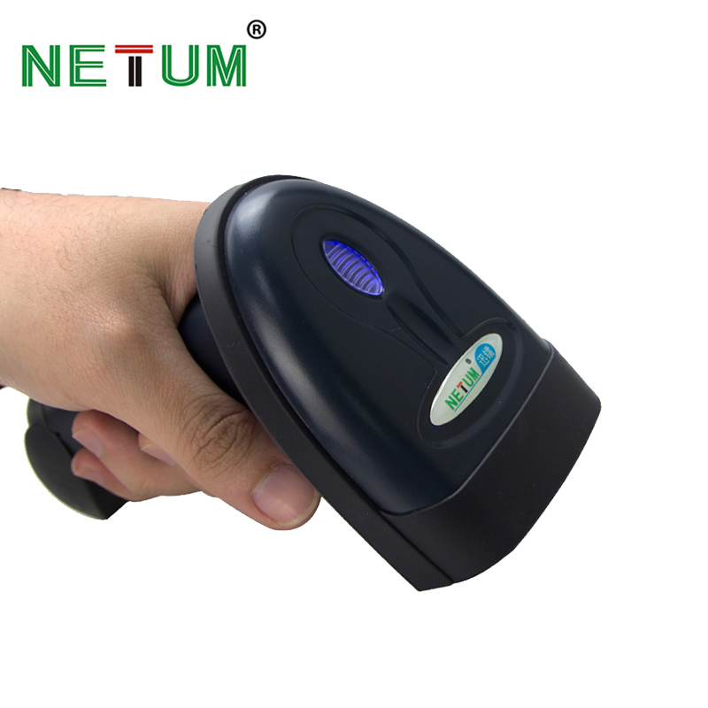 NETUM Bluetooth Barcode Scanner Portable Wireless Laser 1D Bar Code Reader [Ship from Russian Federation] - NT-1698LY