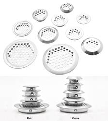 100 шт./лот Premintehdw круглый нержавеющая сталь вентиляционное отверстие вентилятор решетка для шкафа обуви