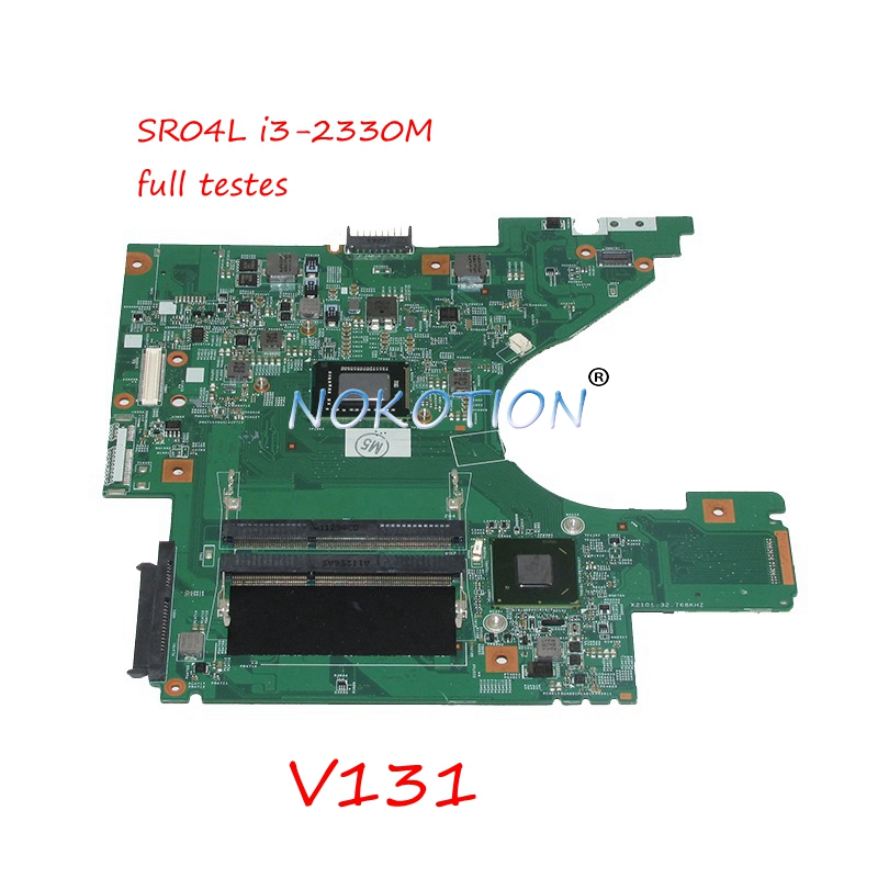 0KY69Y CN-08K8D1 08K8D1 8K8D1 48.4IM02.011 laptop motherboard For dell Vostro V131 13.3 SR04L i3-2330M GMA HD 3000 Main board
