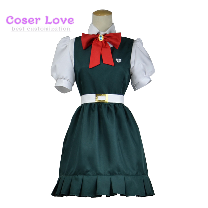 Super Danganronpa Sonia Nevermind Cosplay Costume Christmas New years Costume