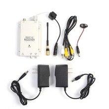 1.2 กรัม Mini Wireless Security Nanny กล้อง Micro Cam Complete ระบบ