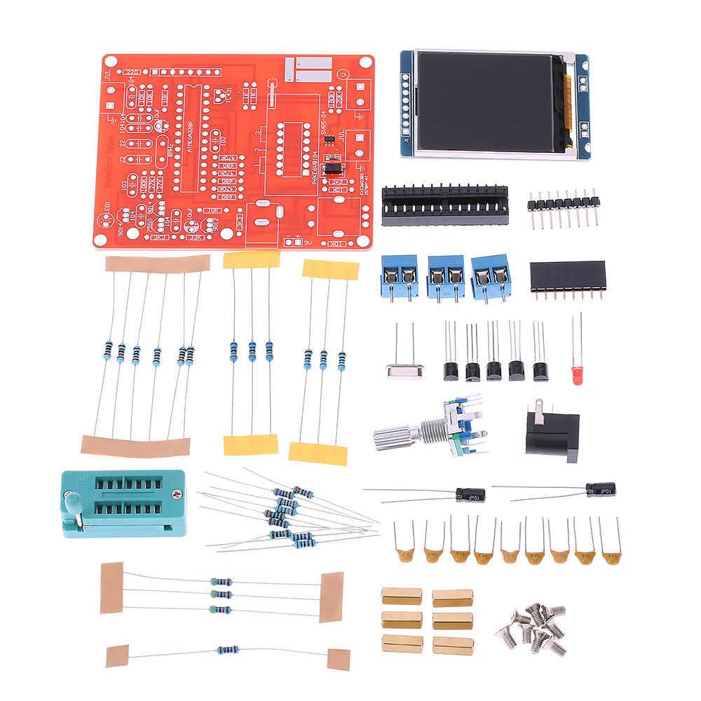 متعددة الوظائف LCD GM328 الترانزستور اختبار ديود السعة ESR الجهد تردد متر PWM موجة مربع إشارة مولد
