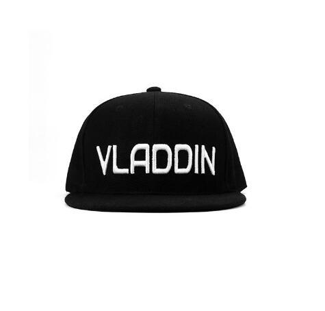 Originale Vladdin Cappelli di Modo di Bianco E Oro Logo Tappi per Vladdin Vapore