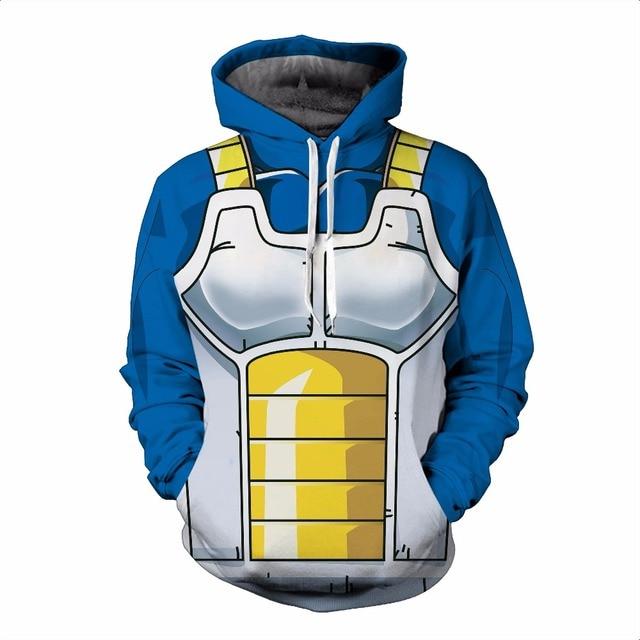 Dragon Ball Z Hoodie 3D Print Pullover Sportswear Sweatshirt