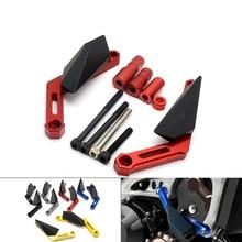 цена на Motorcycle CNC Frame Slider frame sliders crash pads protect Motorbike Falling Protector For YAMAHA MT-09 MT 09 MT09 2013-2016