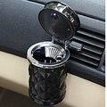 Mini Portable Ashtray Installed with Led Lamp Car Cigarette Ashtray ABS Material On-board Vehicle Ashtray