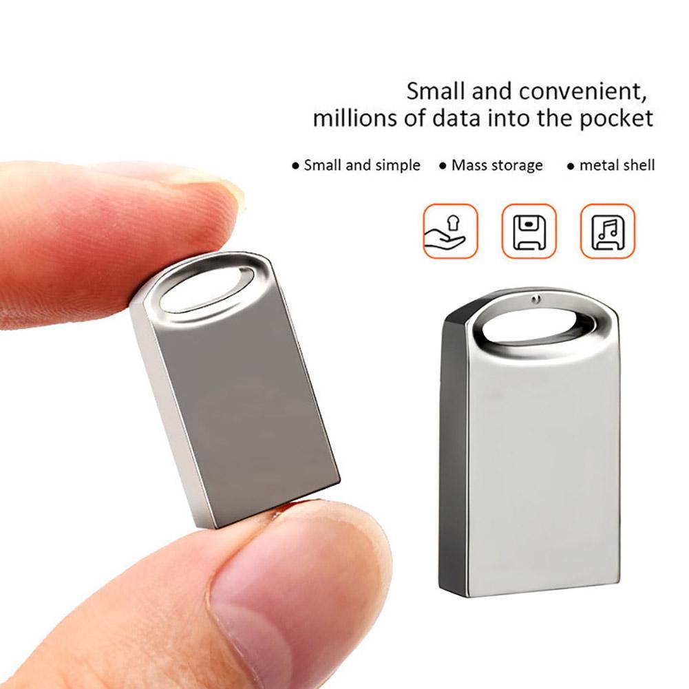 4/8/16/32/64/128GB Metal Mini U Disk Data Storage Flash Memory USB 3.0 Drive Pen