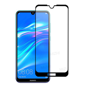 Image 2 - 2PCS Tempered Glass For Huawei Y7 2019 Case Glas On For Huawei Y7 Prime 2019 DUB LX1 DUB LX2 DUB LX3 y72019 7y pro Safety Glass