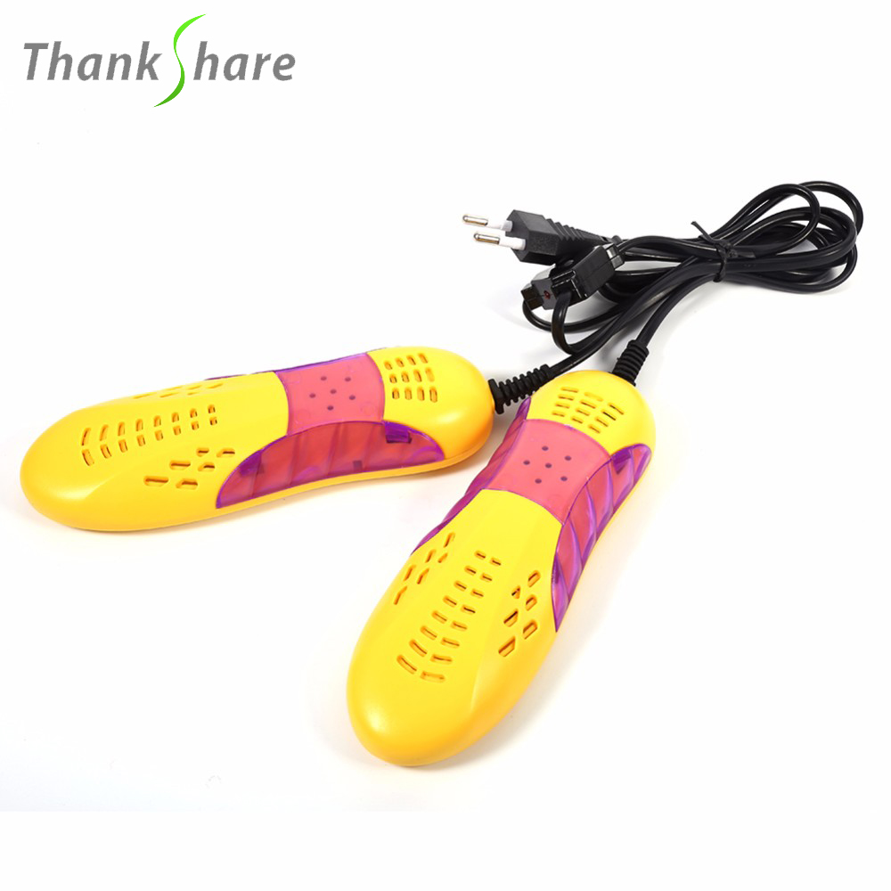 Race Car Shape Shoe Dryer Foot Protector Boot Odor Deodorant Dehumidify Device Shoes Drier With Voilet Light Heater