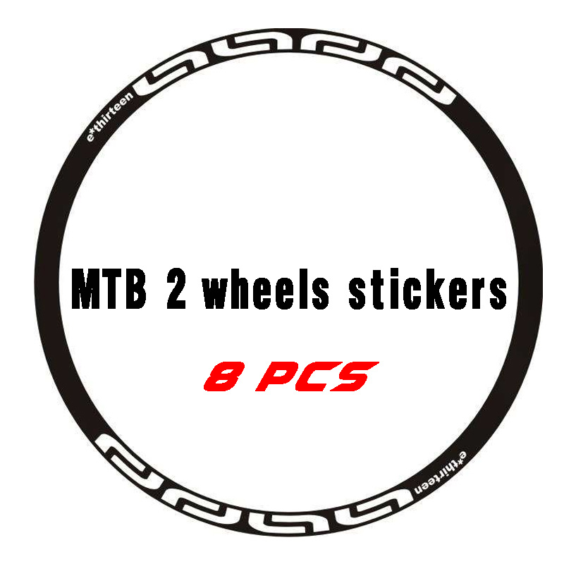 MAVIC Crossmax ST Bicycle Hub Decal Road MTB Sticker Adhesive Vinyl White 2Pcs