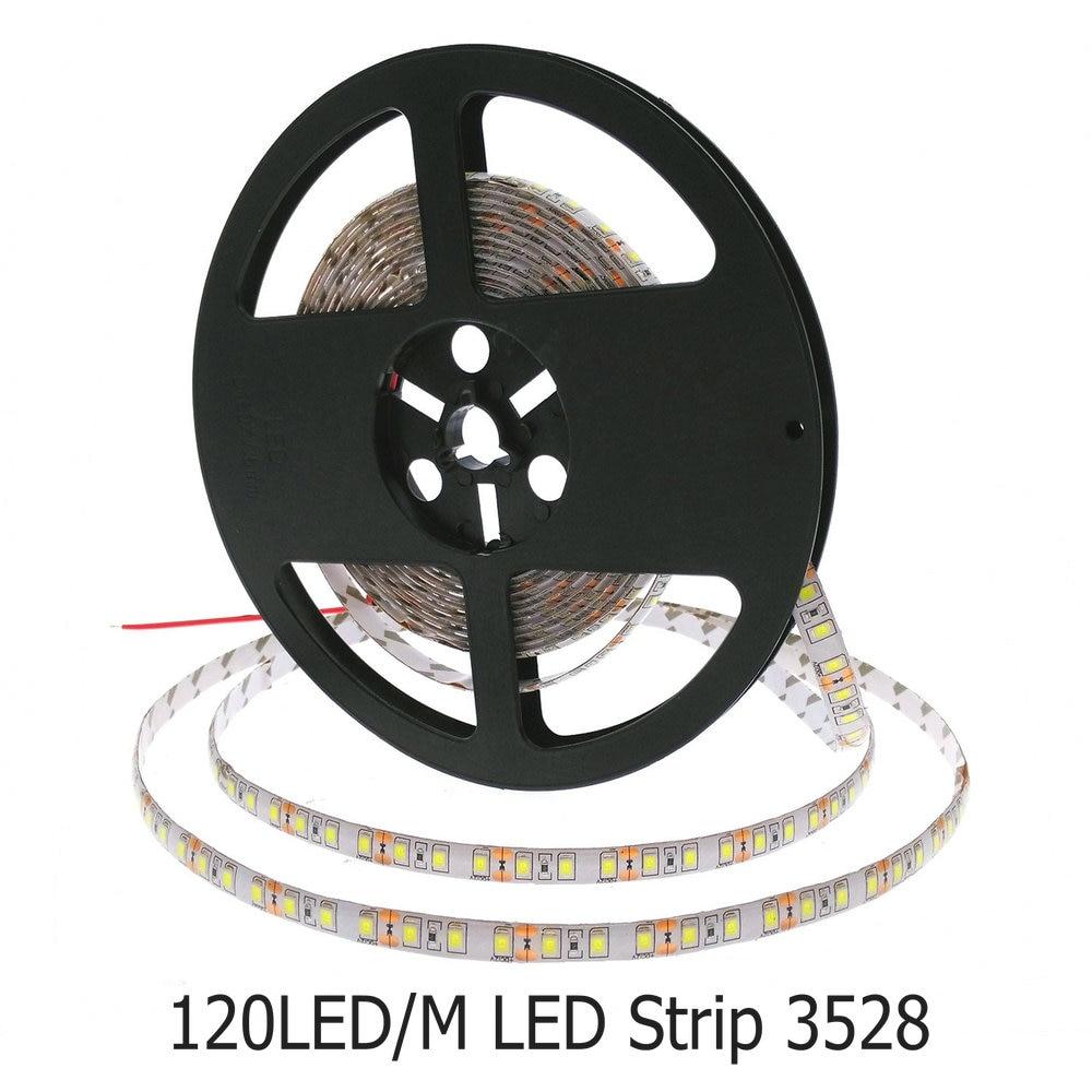 3528/2835 LED Strip 120LED/M 12V Flexible Decoration Lighting LED Tape White/Warm White/Blue/Green/Red