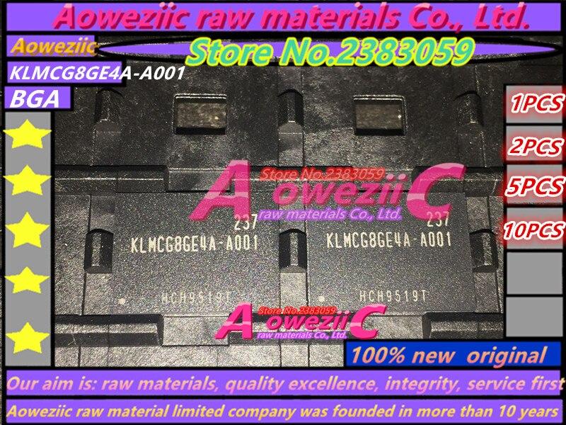Aoweziic (1PCS) (2PCS) (5PCS) (10PCS) 100% new original KLMCG8GE4A-A001 BGA KLMCG8GE4A A001 64G