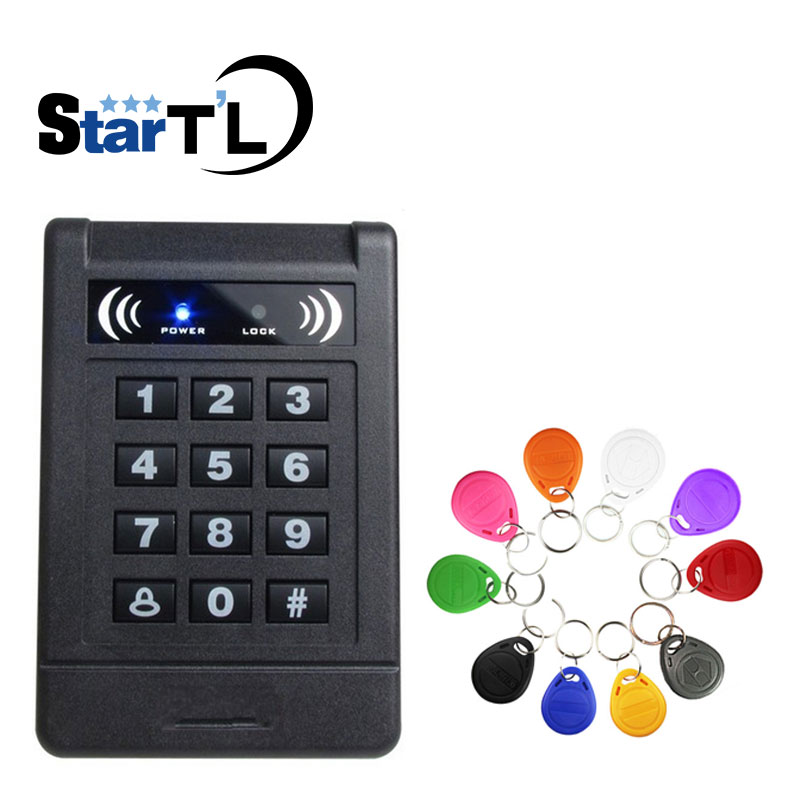 RFID Proximity Door Access Control System RFID/EM Keypad Access Control can be connect external reader dc 12v single door entry access control keypad rfid card reader access control can connect with weigand 26 rfid reader