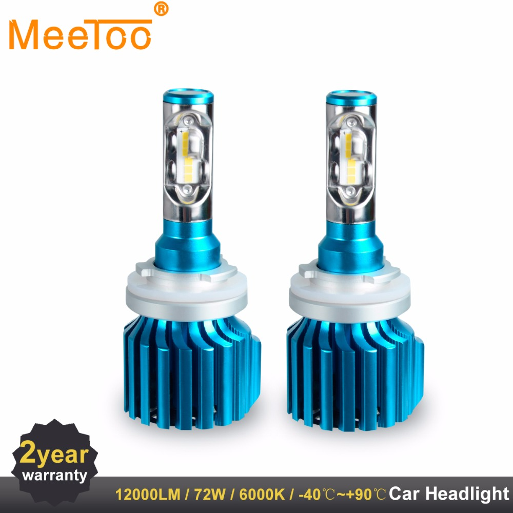 Car Headlight H4 H7 LED Bulbs H1 H11 HB4 HB3 9005 9006 9012 12V 80W 6000K 12000LM CSP Chips Autos Lamp H8 H9 Luces Led Para Auto