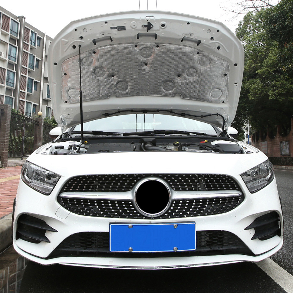 Pour Mercedes Benz A classe W177 V177 A180 A200 A220 A250 voiture moteur isolation coton capot capot accessoires en coton insonorisé - 4