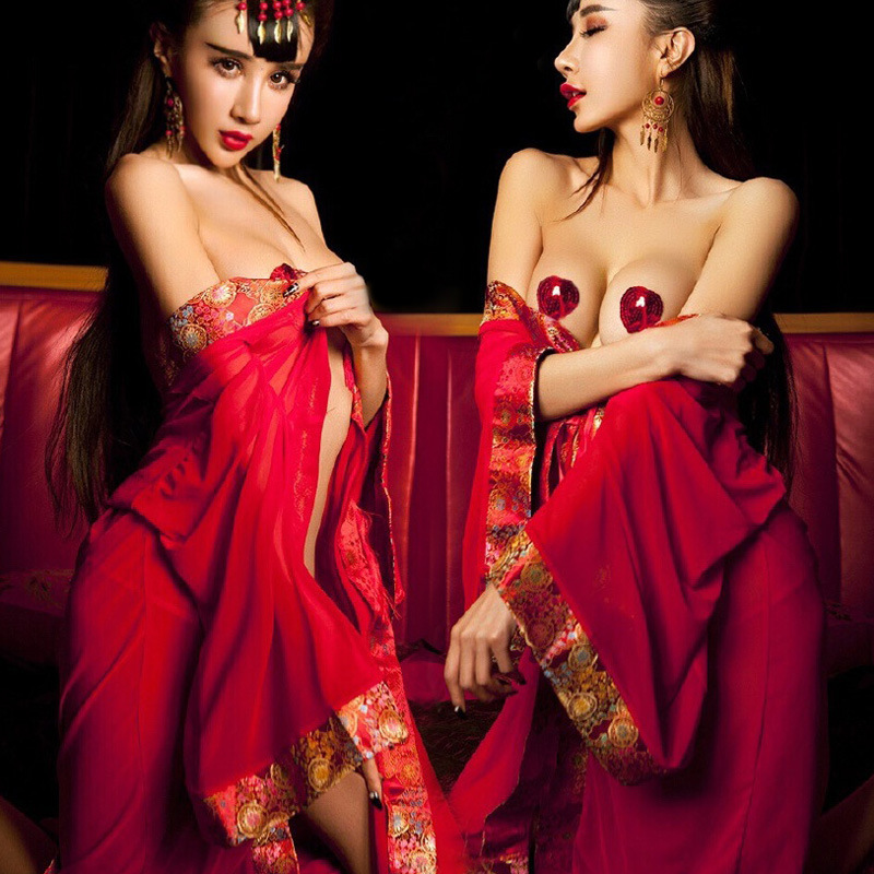 2018 Hot Women Sexy Night Dress Sex Product Bathrobe Rayon Silk Sexy Sleepwear Womens Nightdress Robes kimono Erotic Lingerie ...