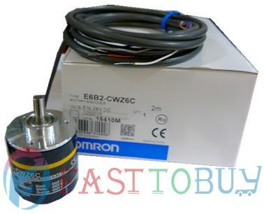 Rotary Encoder E6C2-CWZ6C 50P/R 2M 5~24VDC New rotary encoder s7008c 1024bml5