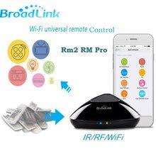 2017 Broadlink RM2 RM Pro Универсальный Интеллектуальный Управление Лер, ИК + rf + WiFi Умный дом Беспроводной Дистанционное управление переключатель с помощью IOS Android