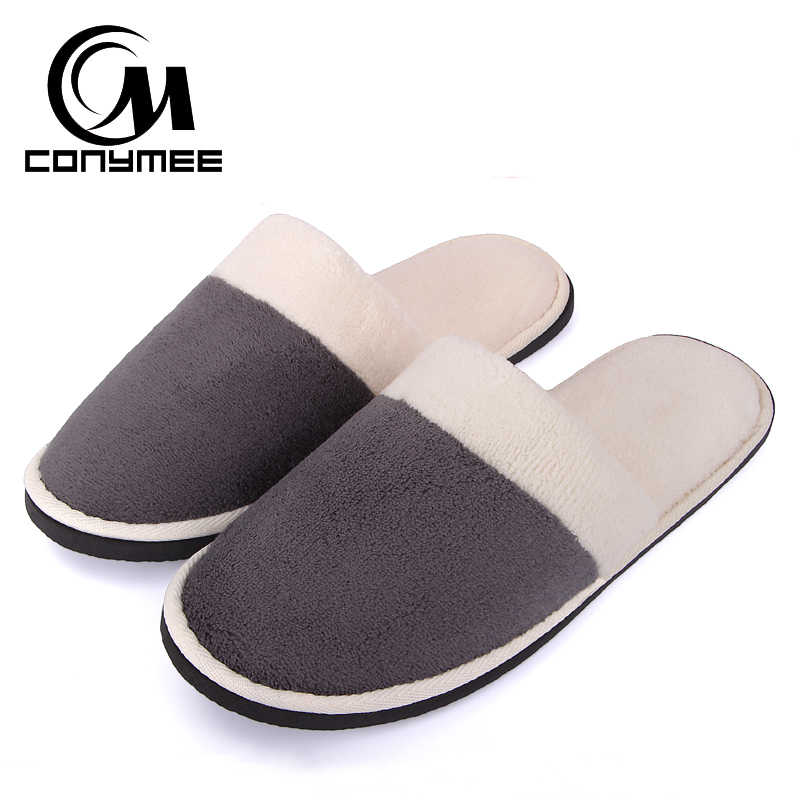 d52c0c18bf70 CONYMEE Home Slippers Men Women Hotel Travel Indoor Flat Shoes Pantufas  Couples Casual Sneakers
