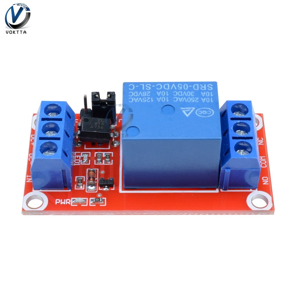 1 Channel 5V Relay Module Board Timer Delay Relay Shield High And Low Level Trigger Power Supply Module For Arduino Controller