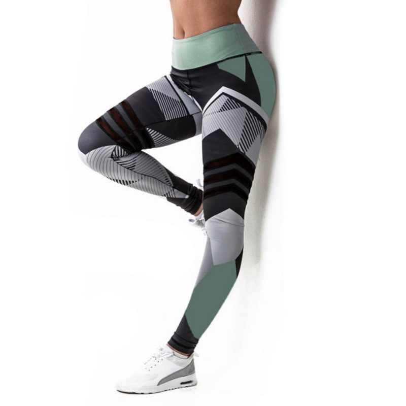 3cdb2cd3cd9cde ... 2019 Hot Striped Running Pants Women Push Up Sport Legging Fitness  Athletic Tights Seamless Gym Training ...