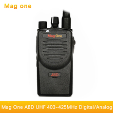 Mag One A8D walkie talkie A8 upgraded version of high power digital two way radio UHF 403-425MHz portable handheld radio