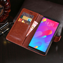 Business Case For Meizu M8 Lite Leather Flip Case Cover For Meizu M8 Note Anti-knock Case Wallet Phone Cover цены